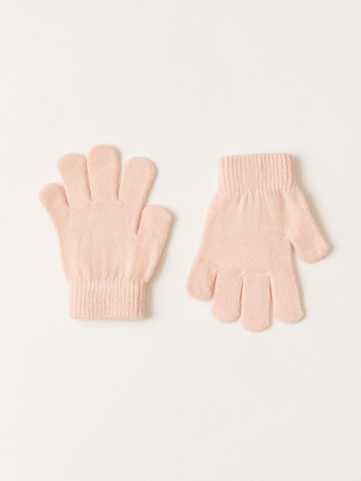 Базовые перчатки для девочек (розовый, 9 - 12 ЛЕТ)