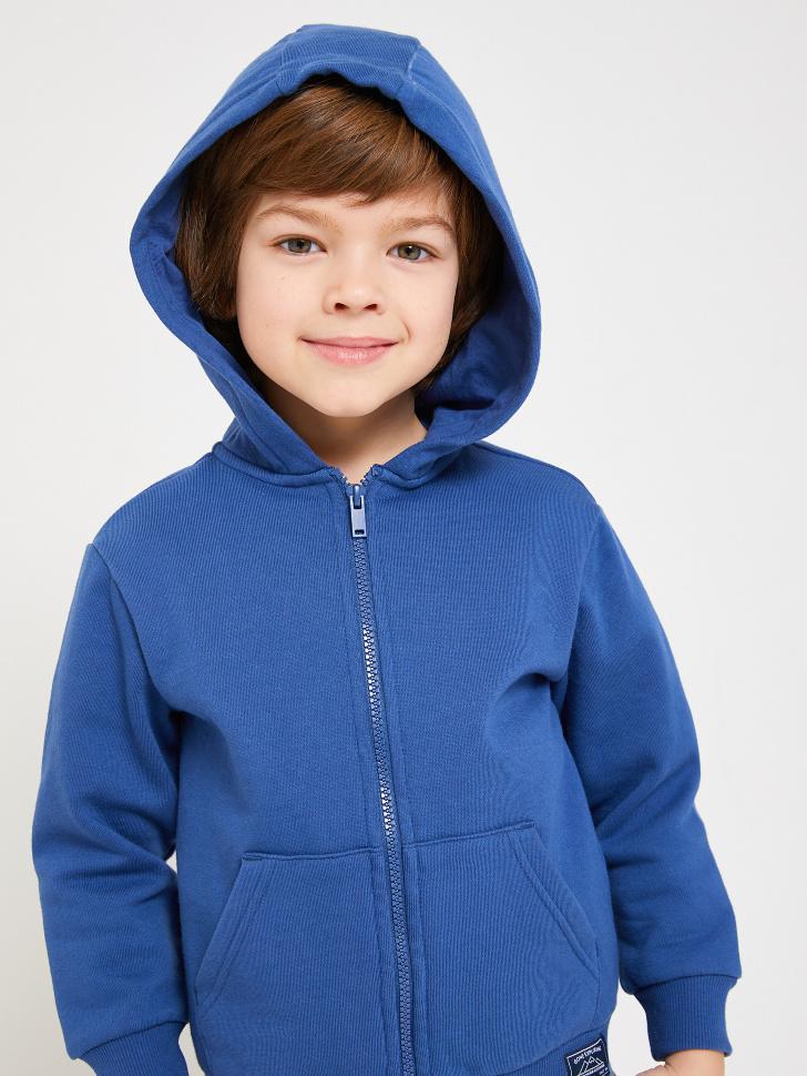 Купить со скидкой трикотажная толстовка для мальчиков (синий, 98/ 3-4 YEARS)