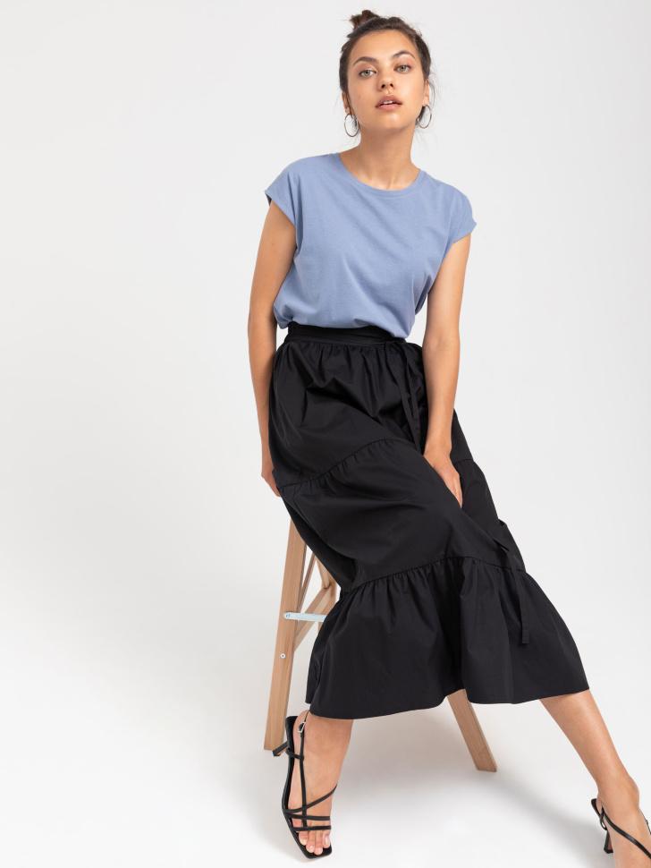 SELA юбка (черный, XS)