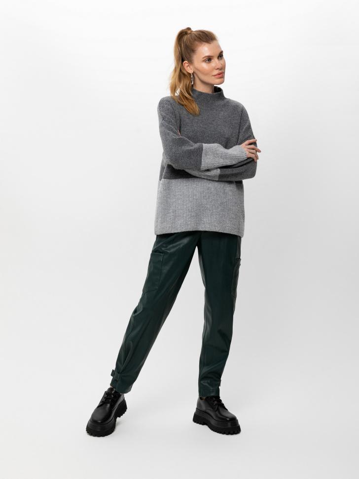 свитер женский (серый, M)