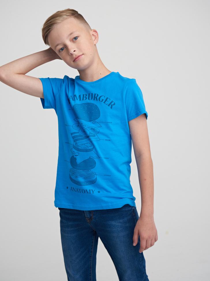 Купить со скидкой Фуфайка для мальчика (синий, 12)