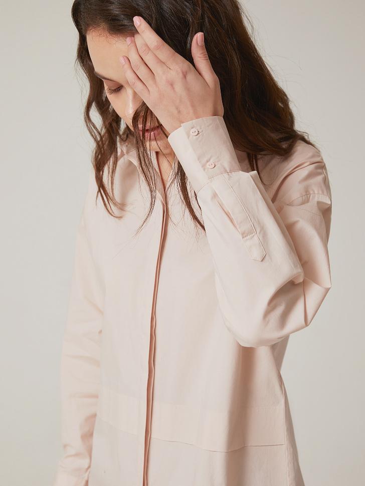 Купить со скидкой рубашка из хлопка (розовый, XL)