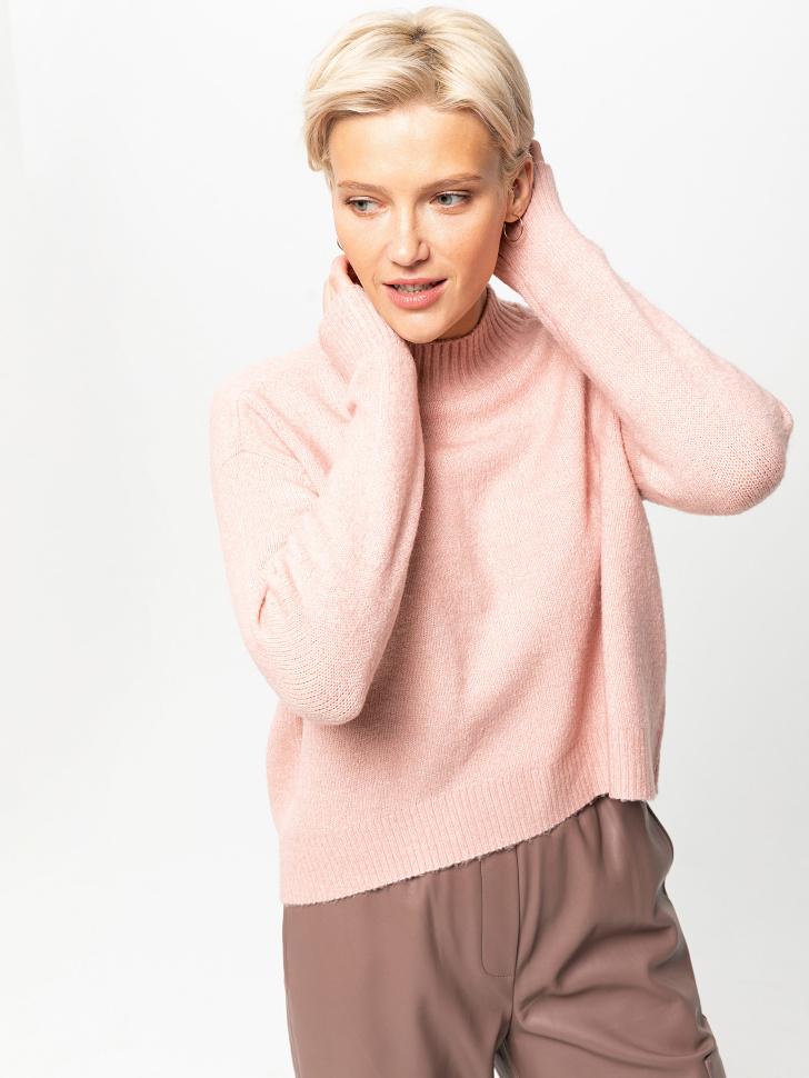 свитер женский (розовый, M)