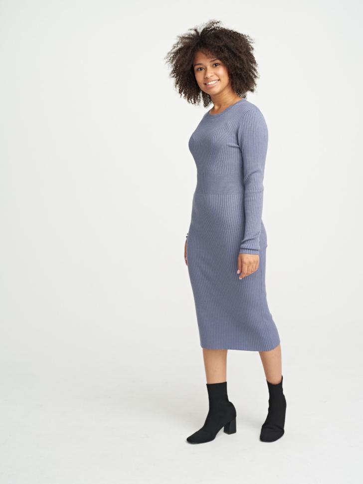 Купить со скидкой Платье (серый, S)