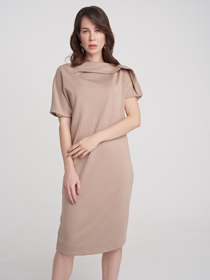 Платье (бежевый, S)