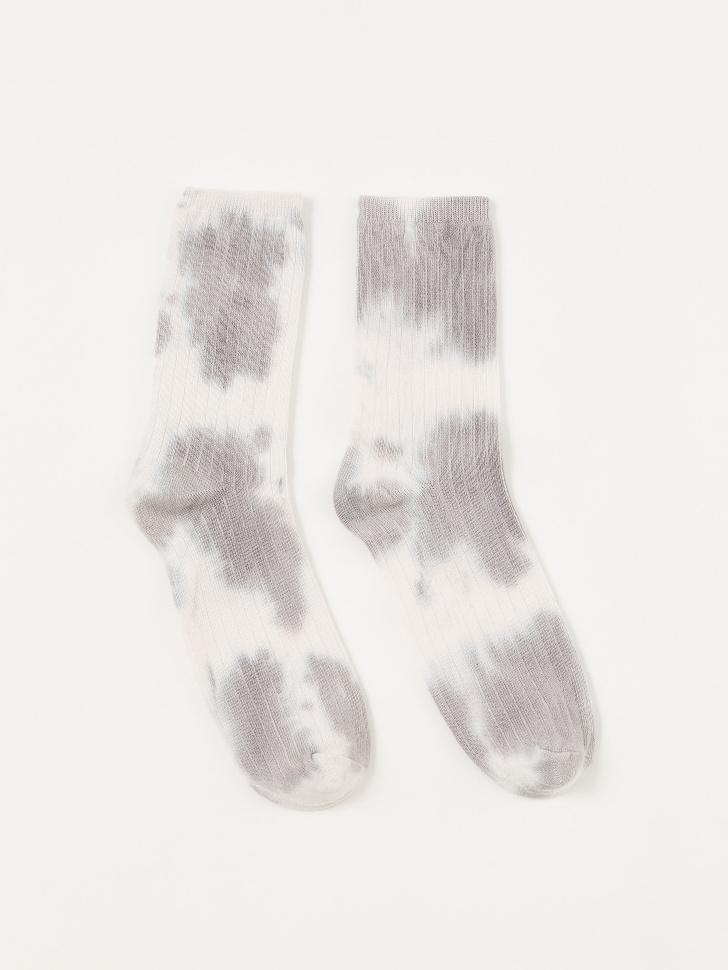 Носки с принтом тай-дай (принт, 25-27)