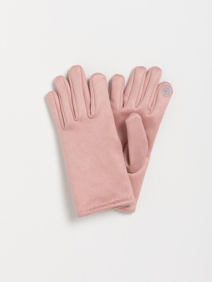 SELA перчатки для девочек (розовый, 7 — 9 лет)