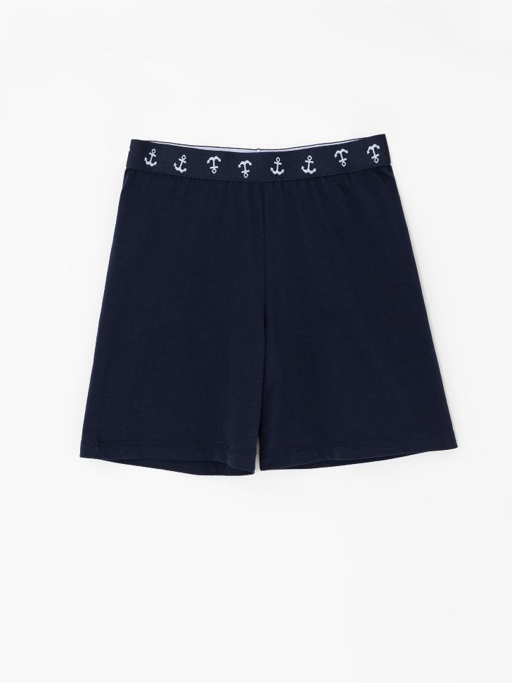 SELA Домашние шорты для мальчиков (синий, 146-152 (12-13 YEARS))
