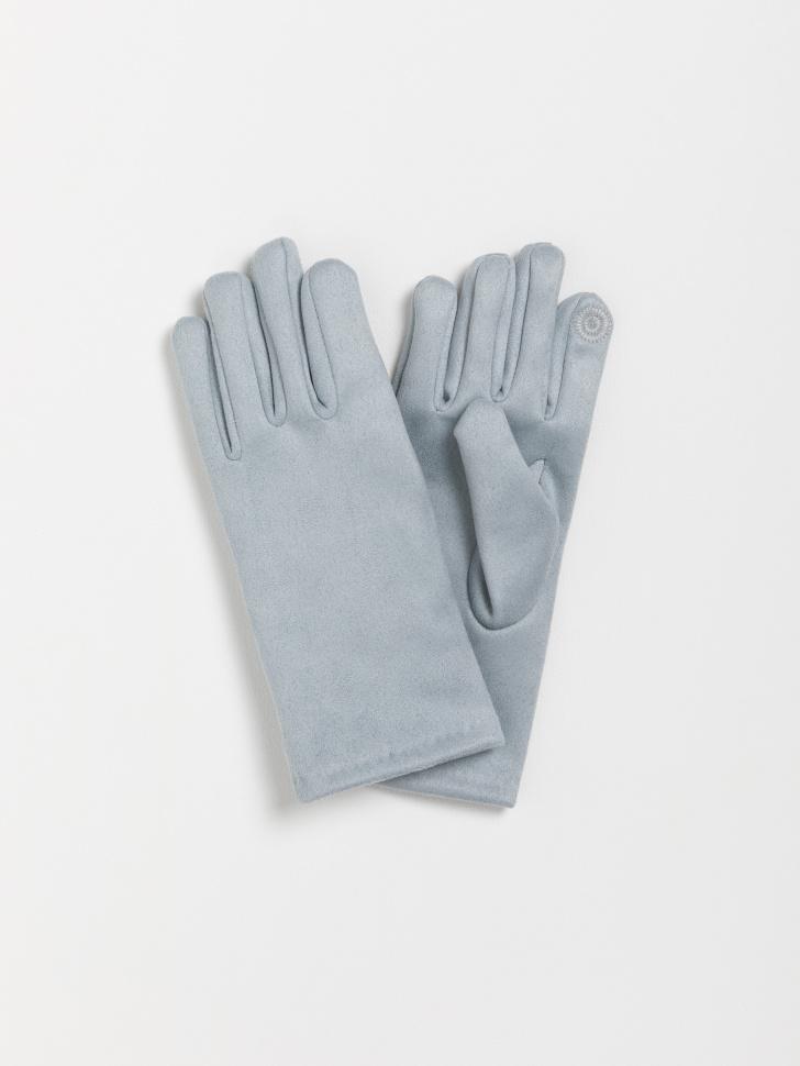 SELA перчатки для девочек (голубой, 5 — 6 лет)