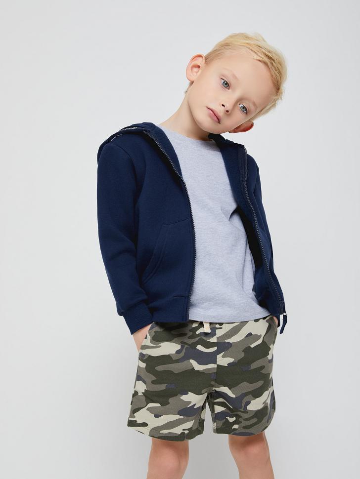 Толстовка с капюшоном для мальчиков (синий, 104/ 4-5 YEARS)