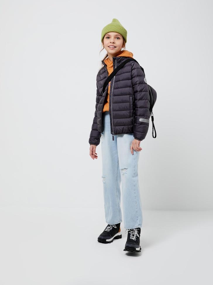 куртка для девочек (серый, 146/ 11-12 YEARS)