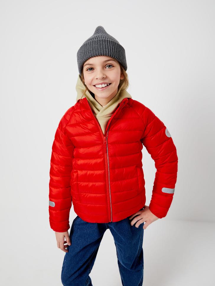 куртка для девочек (красный, 146/ 11-12 YEARS)