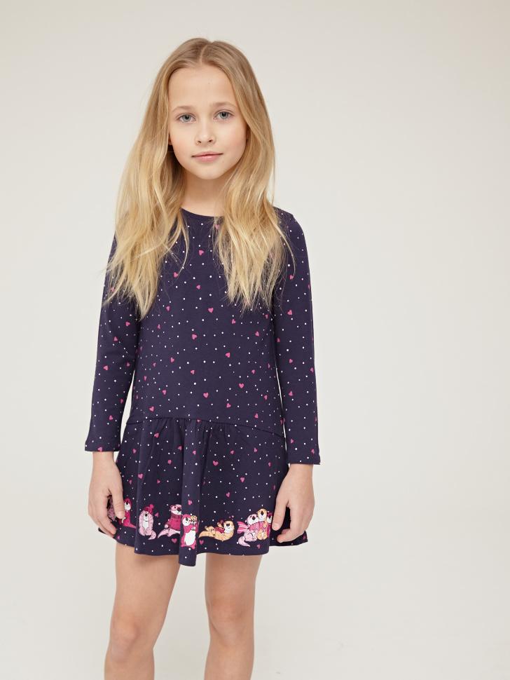 Купить со скидкой Платье для девочки (фиолетовый, 3)