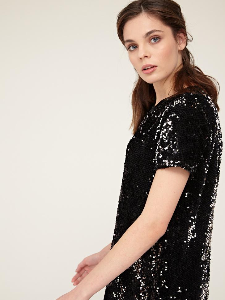 платье (черный, XL)