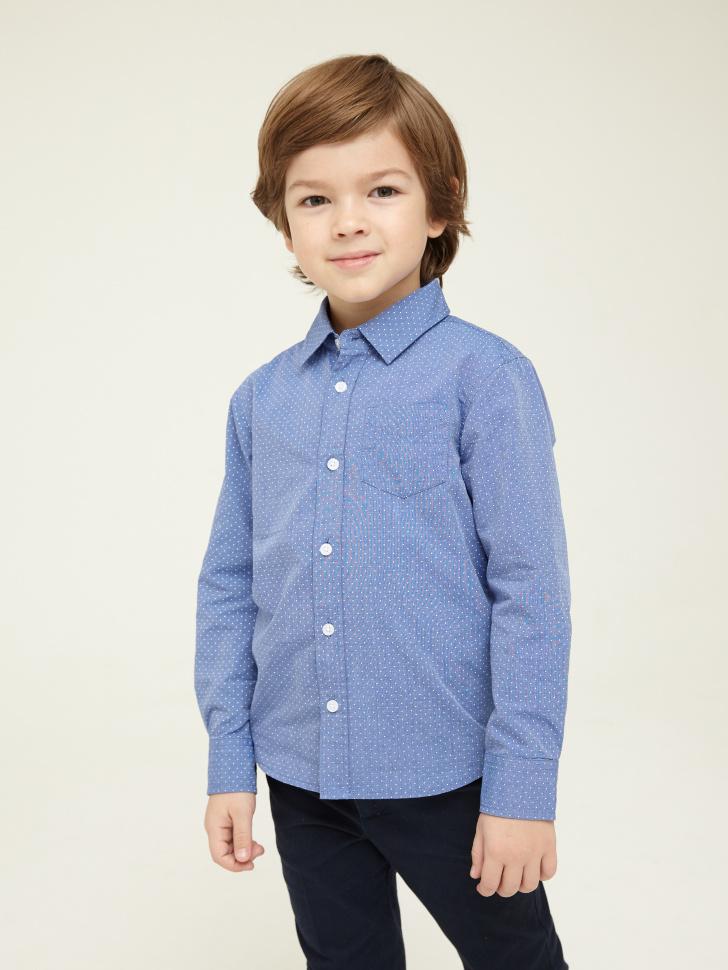 Купить со скидкой рубашка для мальчиков (голубой, 6)