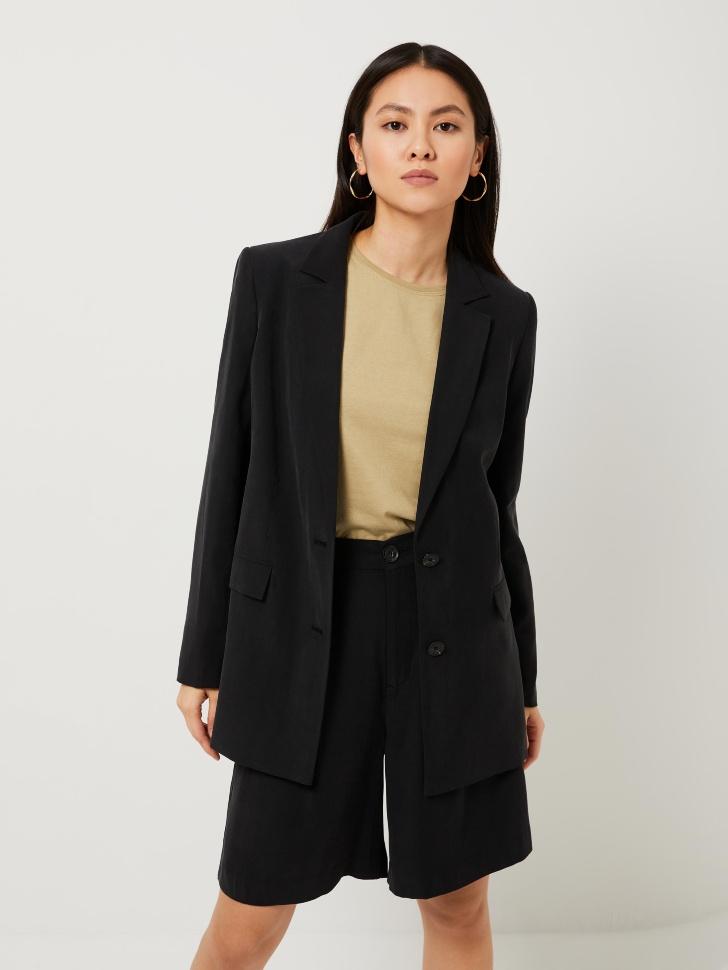 Пиджак оверсайз (черный, XS)