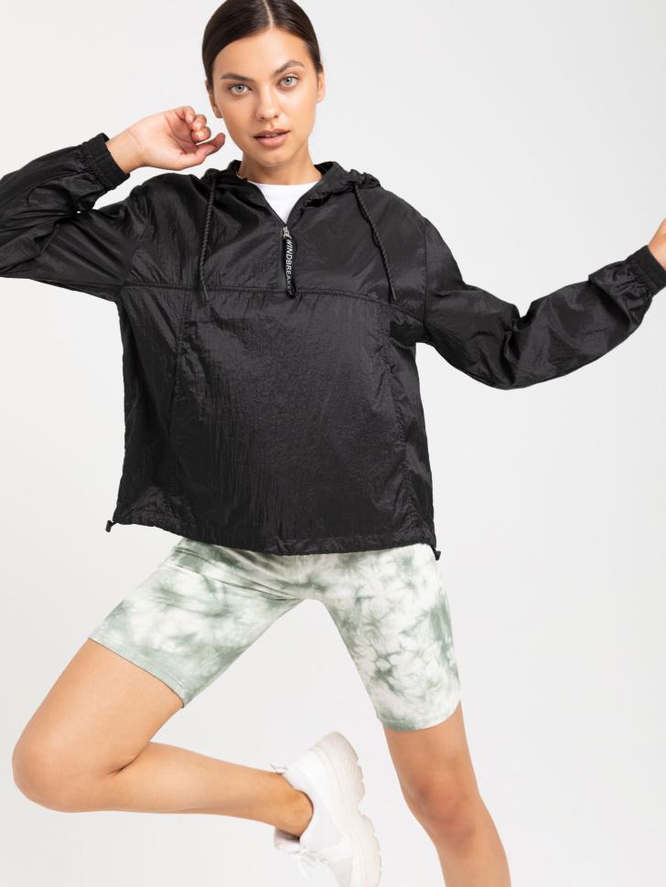 SELA Куртка-анорак (черный, S)