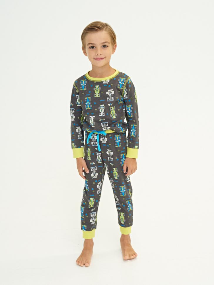 Купить со скидкой пижама для мальчиков (серый, 6-8)