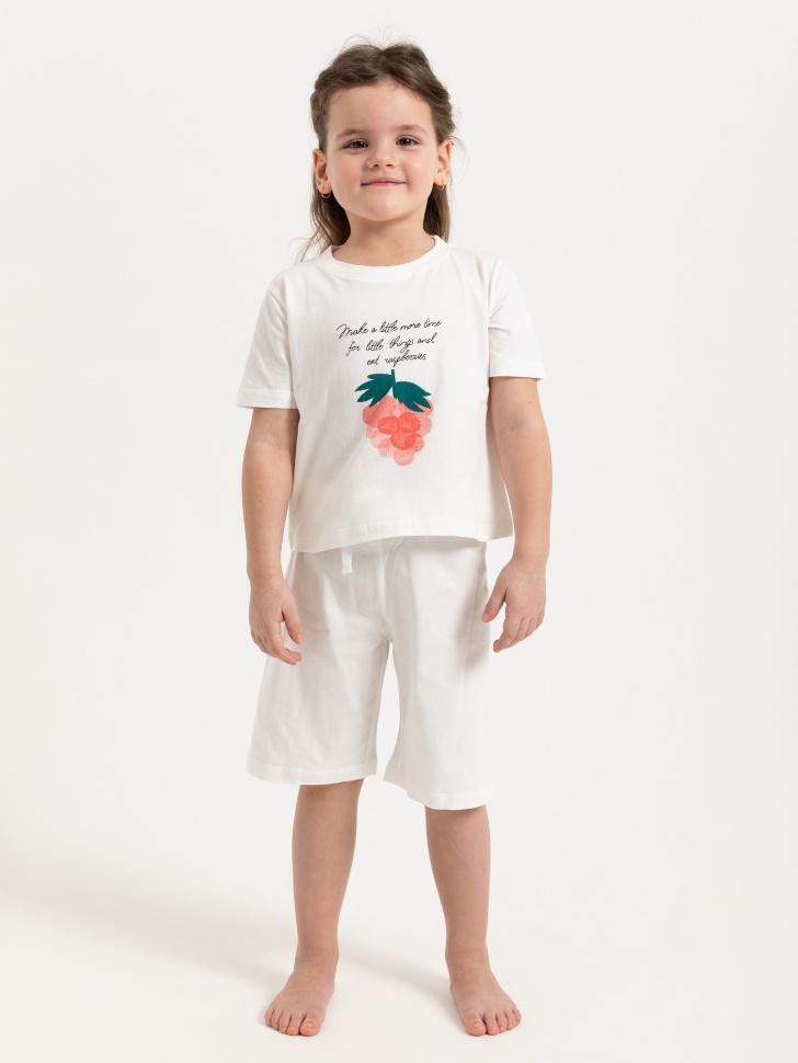 Трикотажная пижама для девочек (серый, 104-110 (4-5 YEARS))