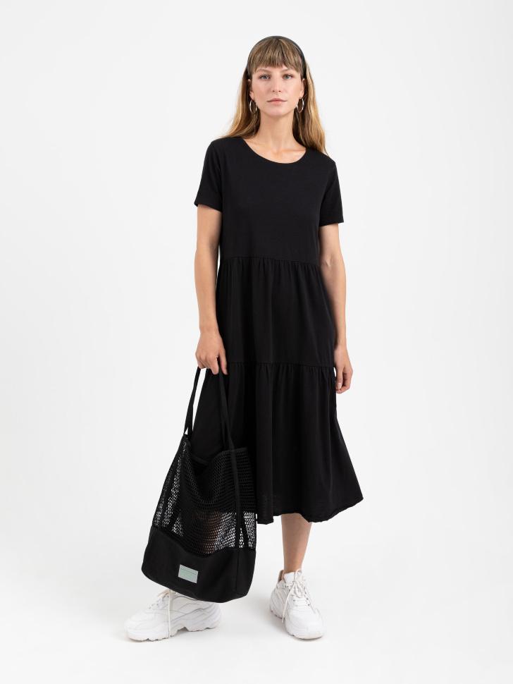 SELA платье женское (черный, M)