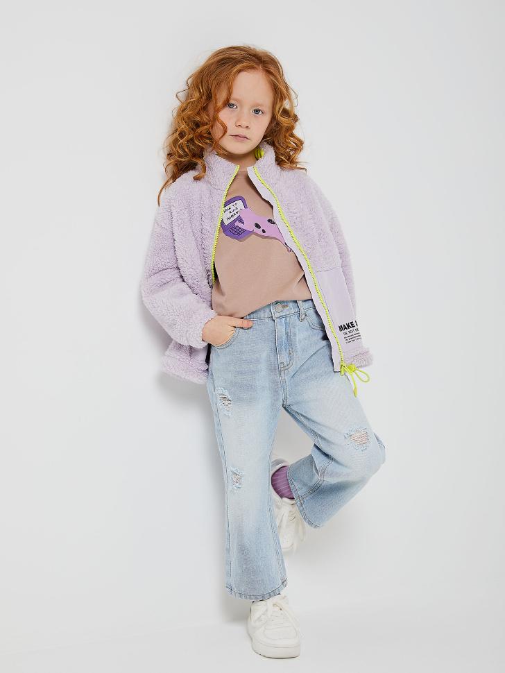 куртка для девочек (сиреневый, 104/ 4-5 YEARS)