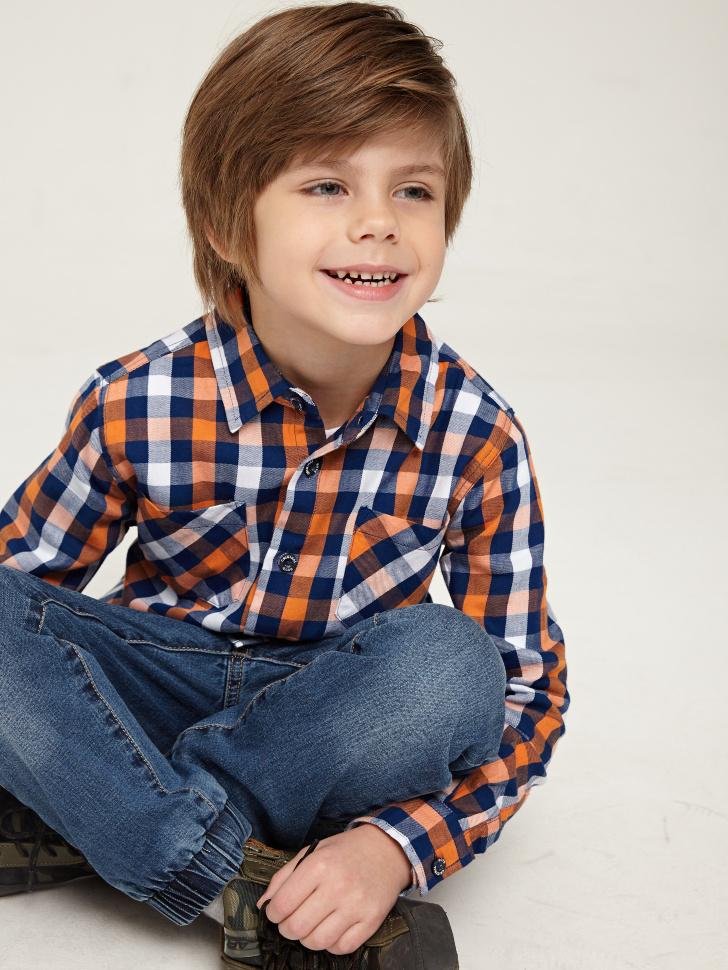 Купить со скидкой Рубашка для мальчика (синий, 6)