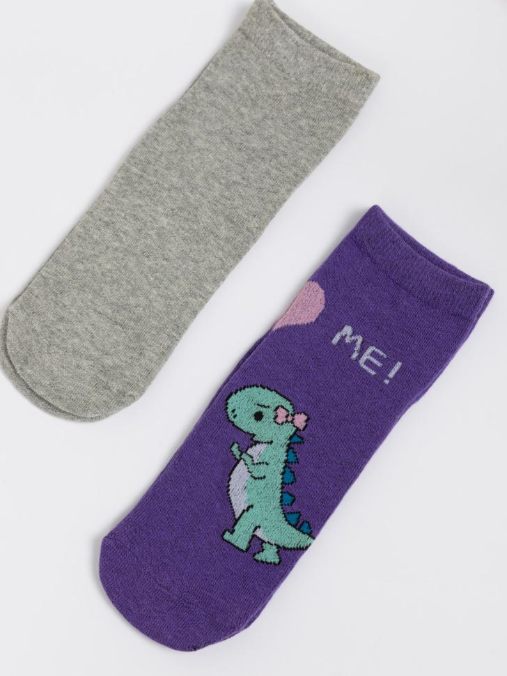 SELA набор носков для девочек (принт, 20-22)
