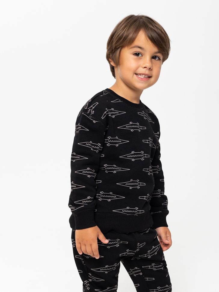 джемпер для мальчиков (черный, 98/ 3-4 YEARS)