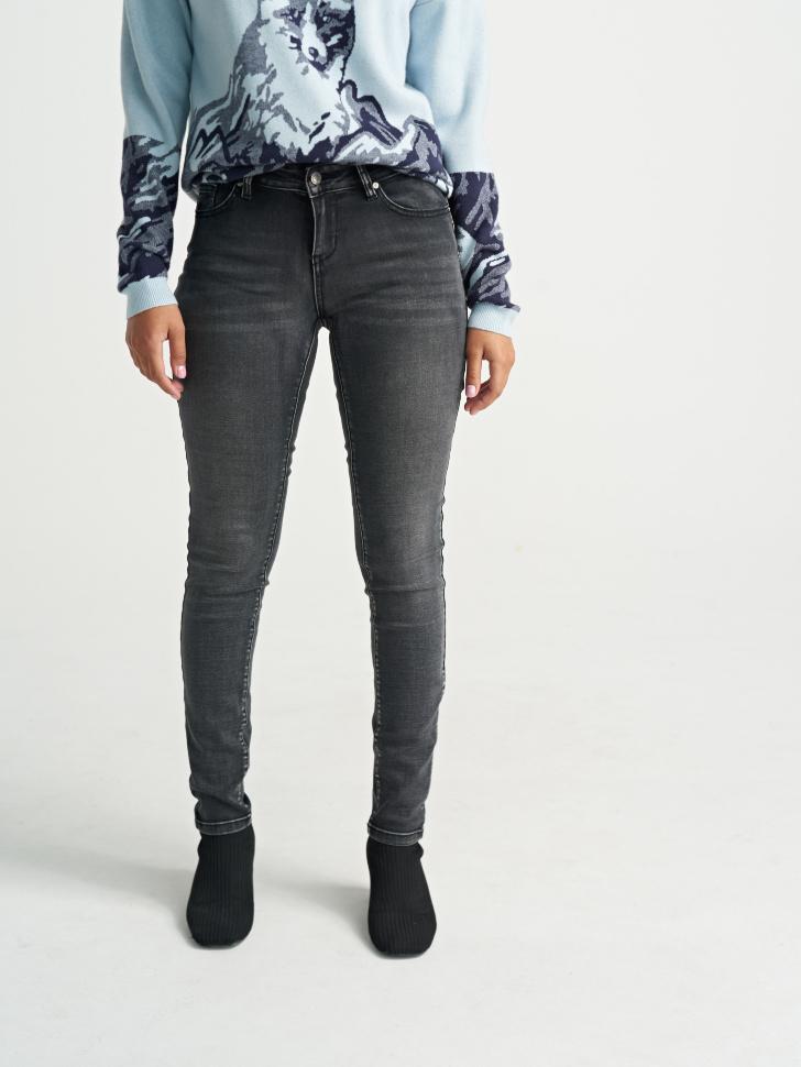 брюки джинсовые (серый, W33)