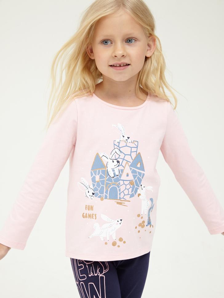Купить со скидкой Джемпер для девочки (розовый, 6)
