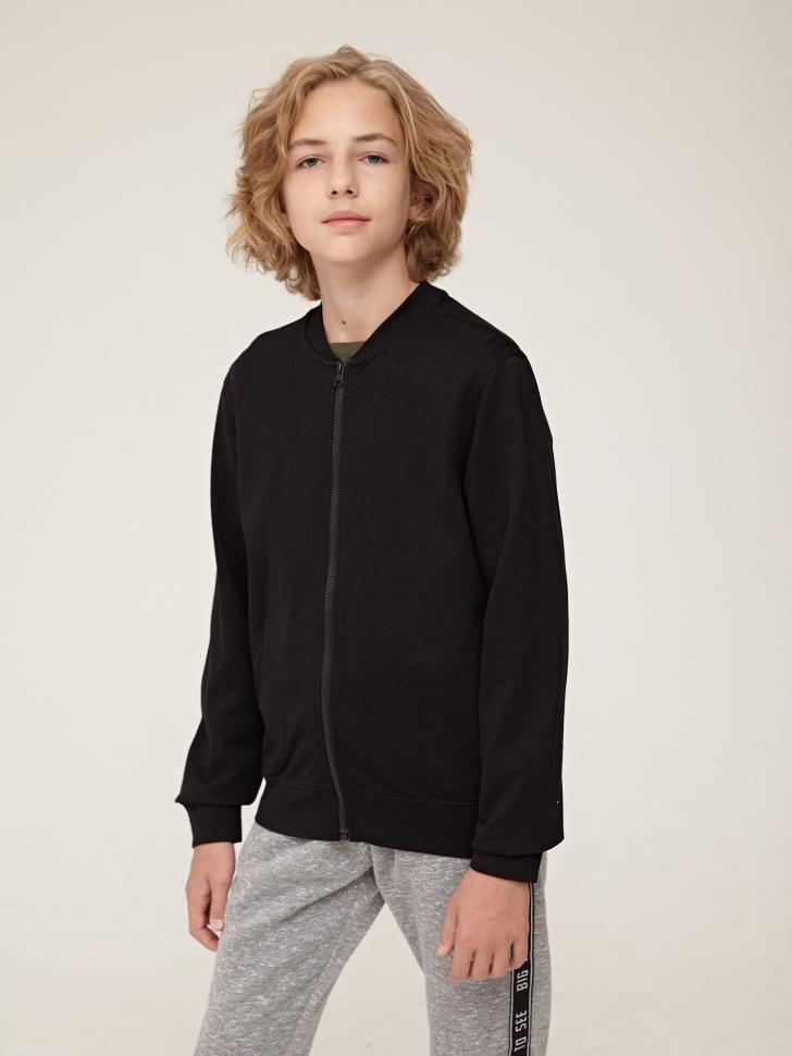 Купить со скидкой Куртка для мальчика (черный, 11)