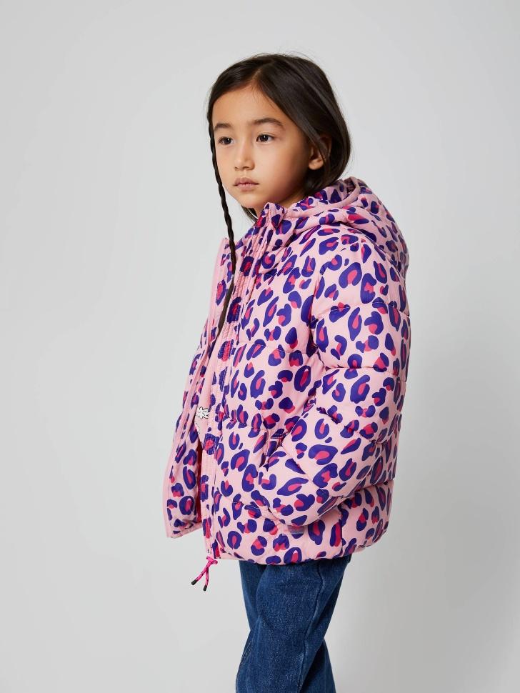 куртка для девочек (розовый, 98/ 3-4 YEARS)