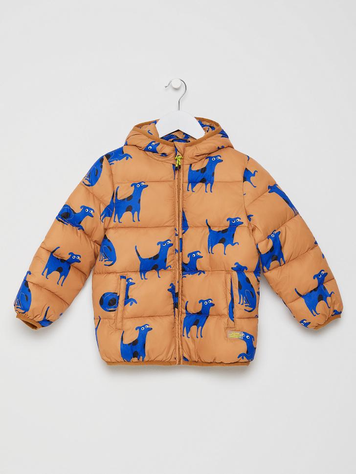 куртка для девочек (коричневый, 110/ 5-6 YEARS)