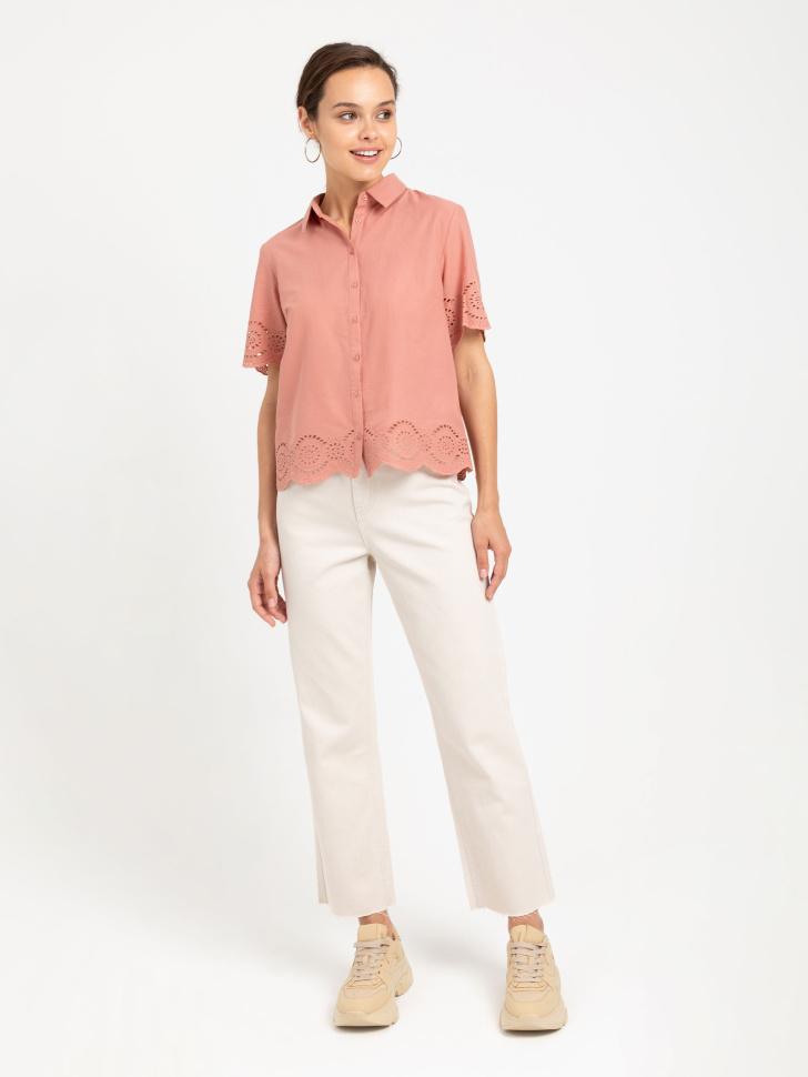 SELA блузка (оранжевый, M)