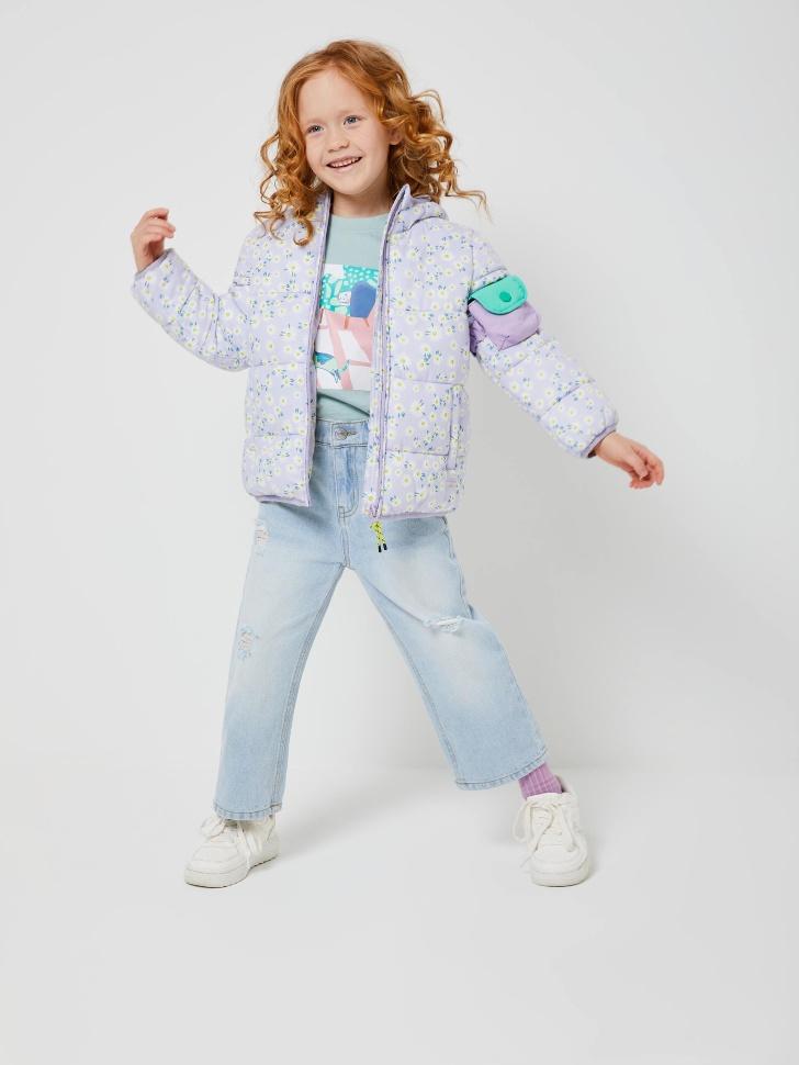 куртка для девочек (сиреневый, 116/ 6-7 YEARS)