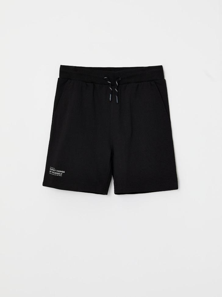 шорты для мальчиков (черный, 104/ 4-5 YEARS)
