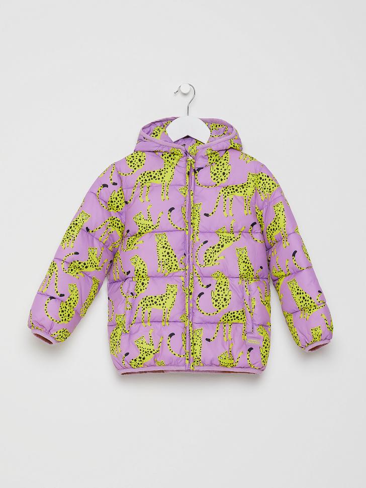 куртка для девочек (принт, 104/ 4-5 YEARS)