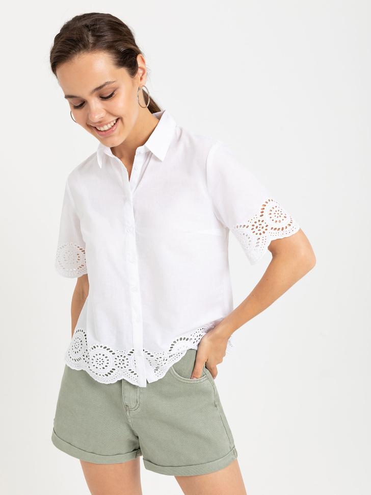 блузка (белый, S)