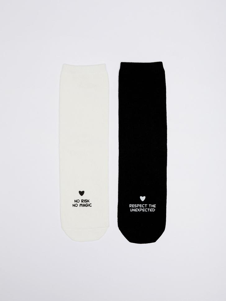 набор носков для женщин (принт, 23-25)